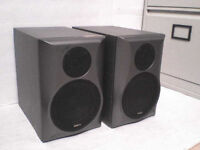 80W Mission SC-M07 horned Stereo Speakers - Heathrow