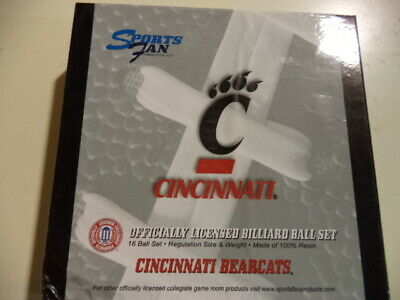 Cincinnati Bearcats Billiard Ball Set ()