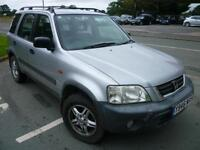 2001 Honda CR-V 2.0 West One Ltd Edn silver 120675 miles shrewsbury