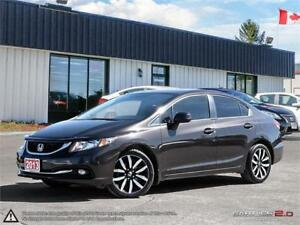 2013 Honda Civic Sdn Touring,NAVI,REARVIEW CAM,LEATHER,B.TOOTH