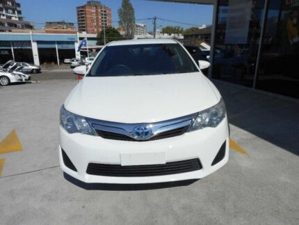 2012 Toyota Camry AVV50R Hybrid H Diamond White Continuous Variable Sedan Allawah Kogarah Area Preview