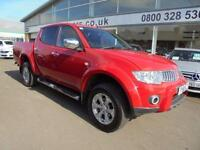 2011 Mitsubishi L200 DCab DI D Warrior II 4WD Auto 176Bhp [2010] 4 door Pick Up