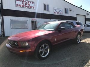 2006 Ford Mustang Convertible $8950. ONLY $240.70 per month!!!