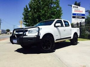 2013 Holden Colorado RG MY14 LX (4x4) White 6 Speed Automatic Crew Cab P/Up Beckenham Gosnells Area Preview