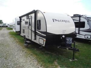 2016 Palomini 177BH Ultra Lite Travel Trailer with Bunkbeds
