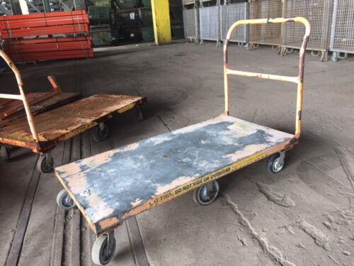 "30"" x 60"" Platform Cart with Handle"