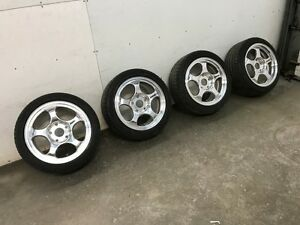 Porsche Forgeline Rims and Tires