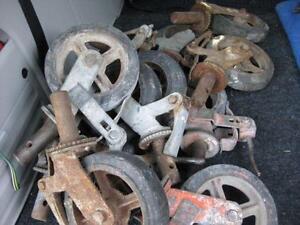 3 set de 4 roues pour échaffaud