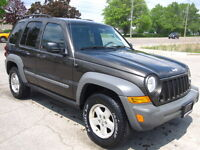 ONLY 126400 kms MINT CONDITION! 2006 JEEP LIBERTY SPORT London Ontario Preview