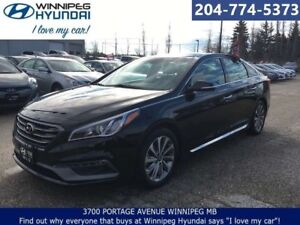 2016 Hyundai Sonata 2.4L Sport Tech NO ACCIDENTS LEATHER HEATED