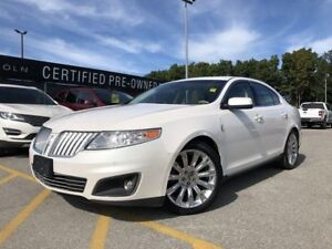 2011 Lincoln MKS |Heated & Cooled Seats|Fog Lights|Moonroof|