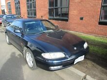 1996 Mazda MX6 GE20L2 4WS Blue 5 Speed Manual Coupe Tottenham Maribyrnong Area Preview