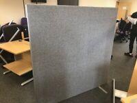 office furniture free standing screens 1.6 meter by 1.6 meters