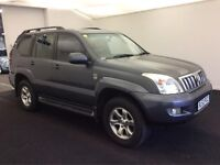 2003 TOYOTA LAND CRUISER AUTOMATIC 3.0 D4-D LC5 top of the ,2 OWNER-FULL SERVICE HISTORY.