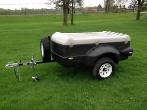 2016 Pulmor Covered Utility Trailer - can be towed by small cars