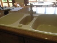 ceramic kitchen sinks and taps