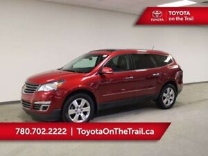 2014 Chevrolet Traverse LTZ; DUAL SUNROOF, LEATHER, 7 PASSENGER,