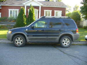 2002 Ford Escape XLT Fourgonnette, fourgon