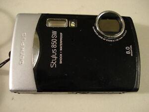 Nice Olympus 850 SW 850SW Digital Camera Waterprof Black