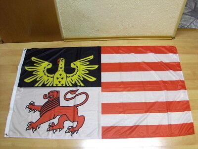 Hof Flagge (Fahnen Flagge Reichshof Nordrhein Westfalen- Digitaldruck - 90 x 150 cm)