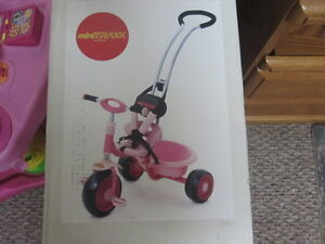 Toddler Bike with Handle and Seat Belt - Brand New in Box