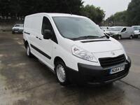 Peugeot Expert 1200 1.6 Hdi 90PS L2 H1 Van DIESEL MANUAL WHITE (2014)