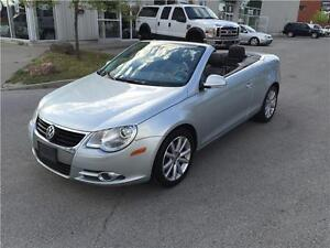 2007 VOLKSWAGEN EOS*AUTO PADDLE SHIFT*PANO*HARD TOP CONVERTIBLE