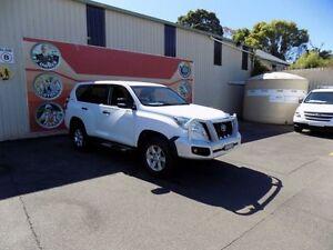 2014 Toyota Landcruiser Prado KDJ150R MY14 GX White 5 Speed Automatic Wagon Gosford Gosford Area Preview