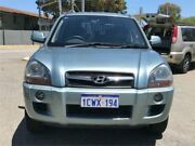 2008 Hyundai Tucson 08 Upgrade City SX Silver 4 Speed Automatic Wagon St James Victoria Park Area Preview