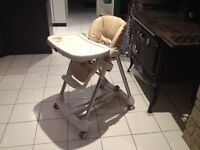 Chaise haute / high chair PEG PEREGO - PRIMA PAPPA