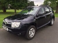 Dacia Duster 1.5 dCi Diesel,Ambiance 5d service history fresh MOT 2013, 49,700 miles Manual