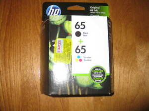 New Printer HP Desk Jet Ink Kit # 65 - 1 Colour and 1 Black $20.