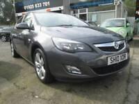 Vauxhall Astra 1.6 i VVT 16v SRi 5dr Good / Bad Credit Car Finance (grey) 2010