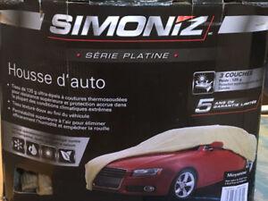 Housse auto - Simoniz (Grandeur moyenne 14 pi 3 po à 16)