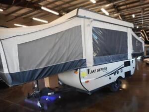 JAY SERIES 10SD IS THE PERFECT TENT TRAILER!!