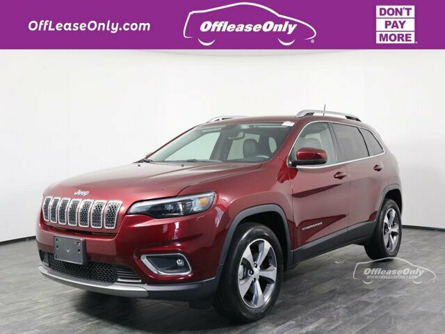 Off Lease Only 2019 Jeep Cherokee Limited 4X4 Intercooled Turbo Premium Unleaded