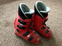 Junior Racing Ski Boots - Nordica Size 6 Red - used