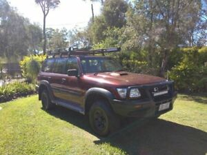 2002 Nissan Patrol GU III MY2002 ST Maroon 4 Speed Automatic Wagon Capalaba Brisbane South East Preview