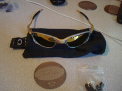 OAKLEY JULIET X METAL 24K GOLD SUNGLASSES OLD SCHOOL FIRST GENERATION