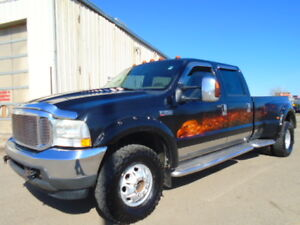 2004 FORD SUPER DUTY F-350-LARIAT-DUALLY-DIESEL-LEATHER-SUNROOF