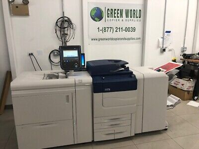 Xerox Color C60 Comes With Ohcf Br Booklet Maker Low Meter 121k