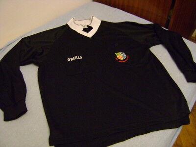 Irish Soccer Referees Society shirt jersey O'neills XL vintage image