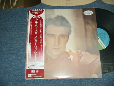 JERRY JEFF WALKER Japan 1976 P-7610A PROMO NM LP+Obi FIVE YEARS GONE