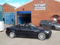 2003 53 BMW M3 3.2 SMG CONVERTIBLE,LOW MILEAGE 77K,FSH,HPI CLEAR,AUG 17 MOT