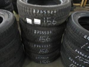 275/55 R20 MICHELIN LATTITUDE WINTER TIRES USED SNOW TIRES (SET OF 4 - $600.00) - APPROX. 75% TREAD