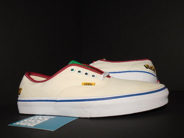11149d5325fc ... 2016 VANS AUTHENTIC CAMP FLOG GNAW CFG GOLF WANG OFF WHITE YELLOW RED  BLUE 8.5 big ...
