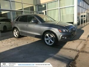 2012 Audi Q5 NAVIGATION/SIDE ASSIST/HEATED SEATS