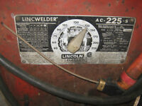 225 LINCOLN  welder works great $175