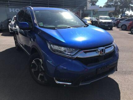 2017 Honda CR-V Blue Constant Variable Wagon Traralgon Latrobe Valley Preview