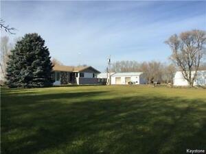Acreage with House & Large Commercial Shop